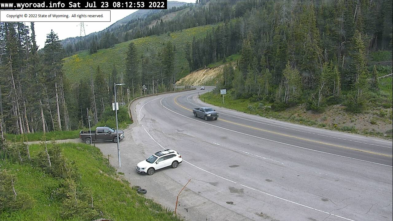 Teton Pass Webcam